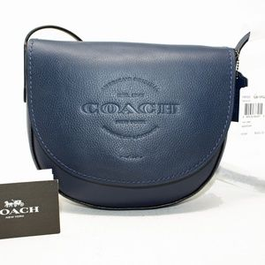 Hudson Saddle F59723  Leather Cross Body